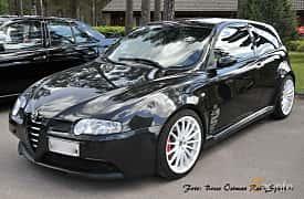 Front/Side of Alfa Romeo 147 GTA 3.2 V6 Manual, 250ps, 2005
