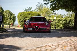 Front of Alfa Romeo 4C 1.75 TBi DCT, 240ps, 2015 at Mille Scania 2017