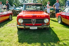 Front  of Alfa Romeo Giulia 1300 Ti 1.3 Manual, 83ps, 1969 at Sportbilsklassiker Stockamöllan 2019