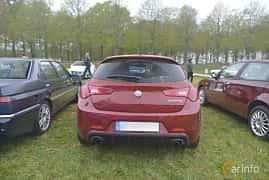 Bak av Alfa Romeo Giulietta 1.75 TBi TCT, 240ps, 2016 på Italienska Fordonsträffen - Krapperup 2019