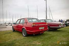 Back/Side of Alfa Romeo Giulietta 1.8 Manual, 122ps, 1979 at Veteranbilsträff i Vikens hamn  2019 Maj