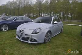 Fram/Sida av Alfa Romeo Giulietta 1.4 TB 16V MultiAir TCT, 170ps, 2014 på Italienska Fordonsträffen - Krapperup 2019
