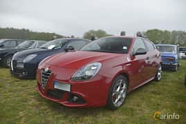 Fram/Sida av Alfa Romeo Giulietta 1.75 TBi TCT, 240ps, 2016 på Italienska Fordonsträffen - Krapperup 2019