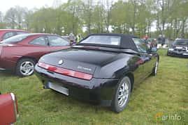 Bak/Sida av Alfa Romeo Spider 2.0 TS Manual, 150ps, 2002 på Italienska Fordonsträffen - Krapperup 2019