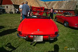Back of Alfa Romeo 1750 Spider Veloce 1.8 Manual, 120ps, 1968 at Sportbilsklassiker Stockamöllan 2019