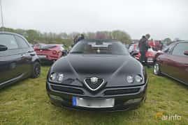 Fram av Alfa Romeo Spider 2.0 TS Manual, 150ps, 2002 på Italienska Fordonsträffen - Krapperup 2019