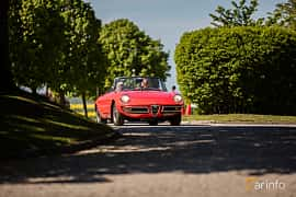 Front/Side of Alfa Romeo 1750 Spider Veloce 1.8 Manual, 120ps, 1968 at Mille Scania 2017