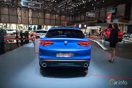 Bak av Alfa Romeo Stelvio 2.2 JTDM Q4 Automatic, 210ps, 2017 på Geneva Motor Show 2017