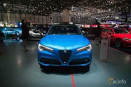Fram av Alfa Romeo Stelvio 2.2 JTDM Q4 Automatic, 210ps, 2017 på Geneva Motor Show 2017