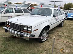 Front/Side  of AMC Concord Station Wagon 4.2 111ps, 1982 at Old Car Land no.2 2019