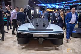 Back of Aston Martin AM-RB 003 Concept Concept, 2019 at Geneva Motor Show 2019
