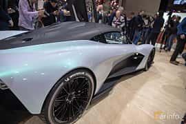 Bak/Sida av Aston Martin AM-RB 003 Concept Concept, 2019 på Geneva Motor Show 2019