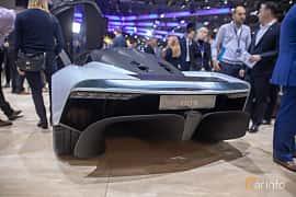 Back/Side of Aston Martin AM-RB 003 Concept Concept, 2019 at Geneva Motor Show 2019