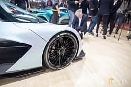 Close-up of Aston Martin AM-RB 003 Concept Concept, 2019 at Geneva Motor Show 2019
