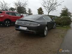 Back/Side of Aston Martin Rapide 5.9 V12 Automatic, 477ps, 2012