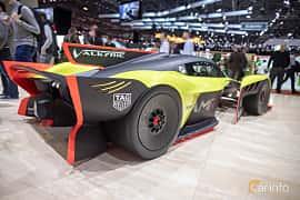 Back/Side of Aston Martin Valkyrie AMR Pro 6.5 V12 Concept, 1115ps, 2018 at Geneva Motor Show 2019