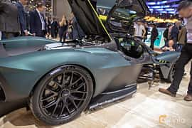 Close-up of Aston Martin Valkyrie 6.5 V12 DCT, 1146ps, 2019 at Geneva Motor Show 2019