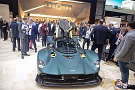 Front  of Aston Martin Valkyrie 6.5 V12 DCT, 1146ps, 2019 at Geneva Motor Show 2019