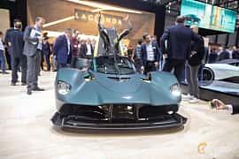 Fram av Aston Martin Valkyrie 6.5 V12 DCT, 1146ps, 2019 på Geneva Motor Show 2019