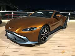 Front/Side  of Aston Martin Vantage 4.0 V8 Automatic, 510ps, 2018