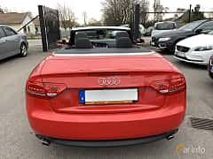 Back of Audi A5 Cabriolet 3.0 TDI V6 DPF quattro S Tronic, 239ps, 2010