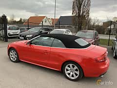 Back/Side of Audi A5 Cabriolet 3.0 TDI V6 DPF quattro S Tronic, 239ps, 2010