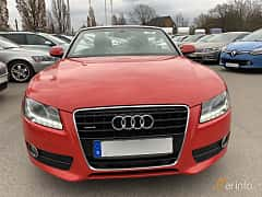 Front  of Audi A5 Cabriolet 3.0 TDI V6 DPF quattro S Tronic, 239ps, 2010