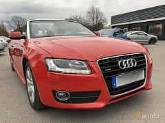 Front/Side  of Audi A5 Cabriolet 3.0 TDI V6 DPF quattro S Tronic, 239ps, 2010