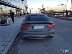 Back of Audi S5 Sportback 3.0 TFSI V6 quattro S Tronic, 333ps, 2014
