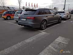 Back/Side of Audi RS 6 Avant 4.0 TFSI V8 quattro TipTronic, 560ps, 2014