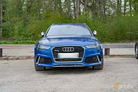 Front  of Audi RS 6 Avant Performance 4.0 TFSI V8 quattro TipTronic, 605ps, 2016 at Fest För Franska Fordon  på Taxinge slott 2019