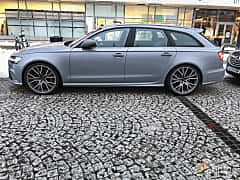 Side of Audi RS 6 Avant 4.0 TFSI V8 quattro TipTronic, 560ps, 2015