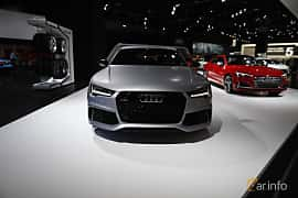 Fram av Audi RS 7 Sportback 4.0 V8 TFSI quattro TipTronic, 560ps, 2017 på North American International Auto Show 2017