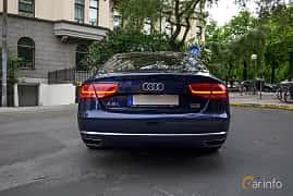 Back of Audi A8 L W12 6.3 W12 FSI quattro TipTronic, 500ps, 2012