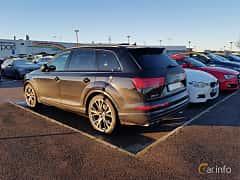 Back/Side of Audi SQ7 4.0 TDI V8 quattro TipTronic, 435ps, 2017