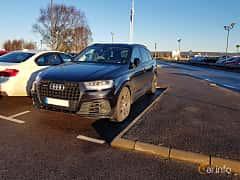 Front/Side  of Audi SQ7 4.0 TDI V8 quattro TipTronic, 435ps, 2017
