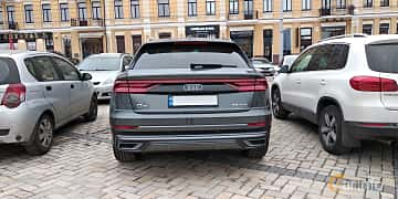 Bak av Audi Q8 55 TFSI quattro  TipTronic, 340ps, 2019