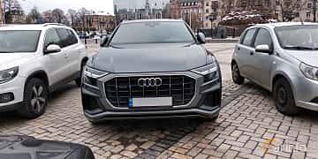 Fram av Audi Q8 55 TFSI quattro  TipTronic, 340ps, 2019