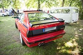 Back of Audi quattro 2.1 quattro Manual, 200ps, 1983 at Billesholms Veteranbilsträff Juni / 2015