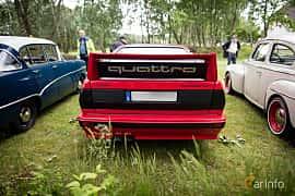 Back of Audi quattro 2.1 quattro Manual, 200ps, 1983 at Eddys bilträff Billesholm Juni 2017