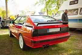 Back/Side of Audi quattro 2.1 quattro Manual, 200ps, 1983 at Billesholms Veteranbilsträff Maj / 2015