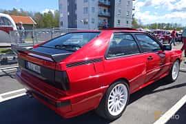 Back/Side of Audi quattro 2.1 quattro Manual, 200ps, 1983 at Riksettanrallyt 2015