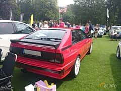 Back/Side of Audi quattro 2.1 quattro Manual, 200ps, 1983 at Sofiero Classic 2014