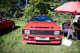Front  of Audi quattro 2.1 quattro Manual, 200ps, 1983 at Lergökarallyt 2016