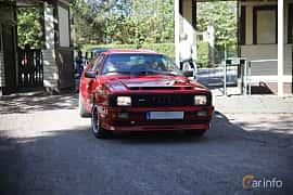 Front/Side  of Audi quattro 2.1 quattro Manual, 200ps, 1983 at Billesholms Veteranbilsträff Maj / 2016
