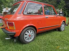 Back/Side of Autobianchi A112 0.9 Manual, 42ps, 1976 at Sofiero Classic 2019