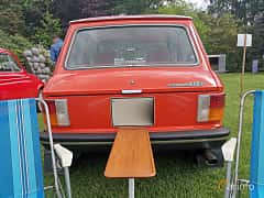 Back of Autobianchi A112 0.9 Manual, 42ps, 1976 at Sofiero Classic 2019