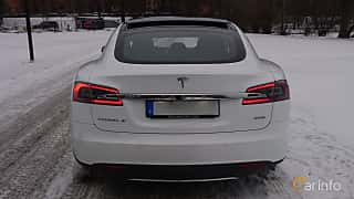 Back of Tesla Model S 85D 85 kWh AWD Single Speed, 423ps, 2016