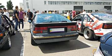 Back of Nissan 200SX Hatchback 2.0 102ps, 1989 at Car gathering JDM  2019