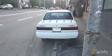 Back of Mercury Topaz 2.3 98ps, 1994